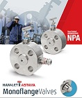 Ham-Let ASTAVA line of Monoflange valves